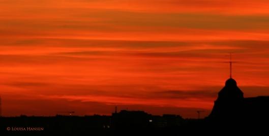 Sunset in Stockholm © Photo by Louisa Hansen